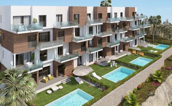 Contemporary new build apartments close to Las Ramblas Golf