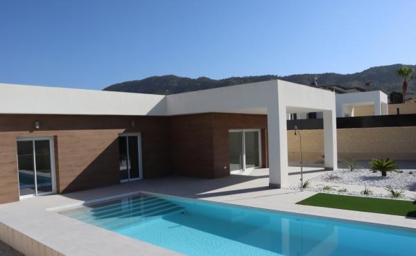 Modern villa on one level with private pool in La Romana