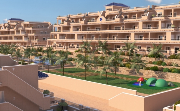 Fantastic New Spa Development walking distance to Punta Prima Beach