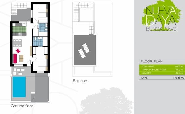 Bungalow Type A plan