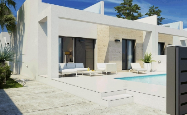 Fantastic terraced bungalows located in Daya Nueva, a small villa in the province of Alicante.
