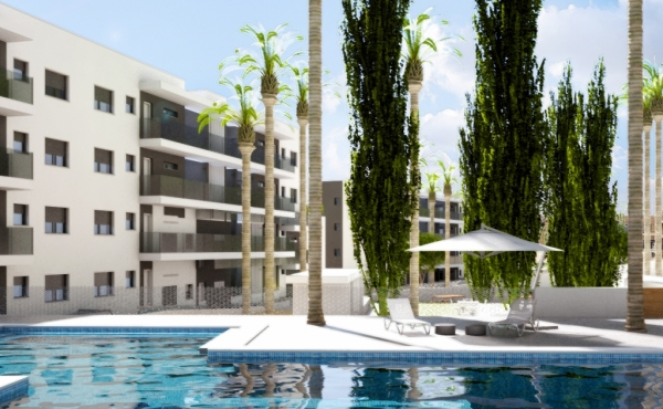 New Build 2 bedroom Apartments Villamartin Starting from 143,000